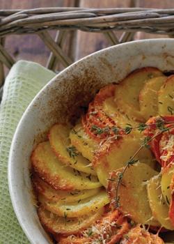 yukon gold & sweet potato gratin. | Must make... | Pinterest