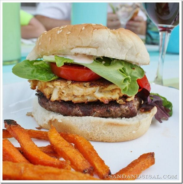 The Ultimate Crabcake Burger!