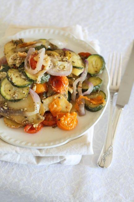 Zucchini, Potato, and Tomato Gratin | Vegetables/Produce | Pinterest