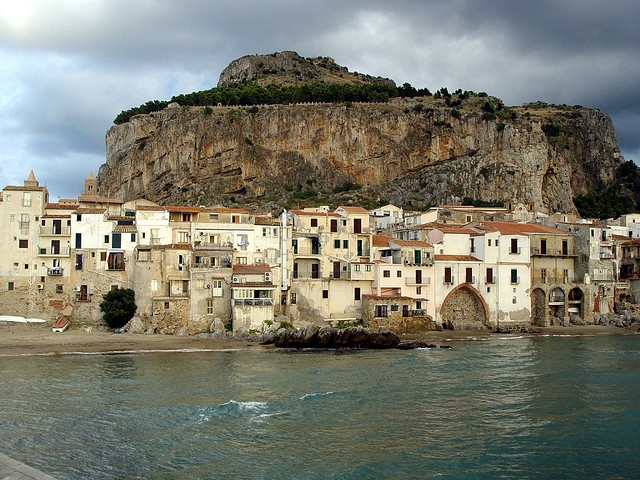 Cefalu Italy  City new picture : Cefalu, Italy Went hiking up that mountain. The view was amazing!