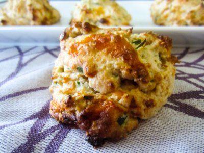 Garlic Cheddar Biscuits | Breads | Pinterest