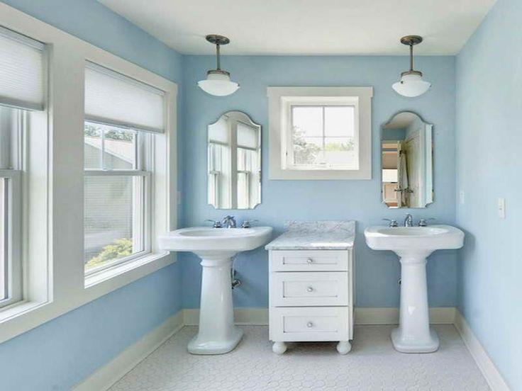 Small Bathroom With Pedestal Sink : Small Bathroom Pedestal Sink Storage Driscoll Manor Pinterest