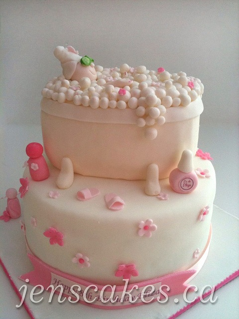 Girl Spa Cake 4 | Flickr - Photo Sharing!