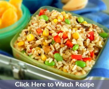 Asian Confetti Rice | Food | Pinterest