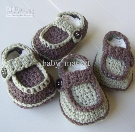 Free Crochet Patterns For Newborn Shoes : Pin by Marg Smith on Baby Pinterest