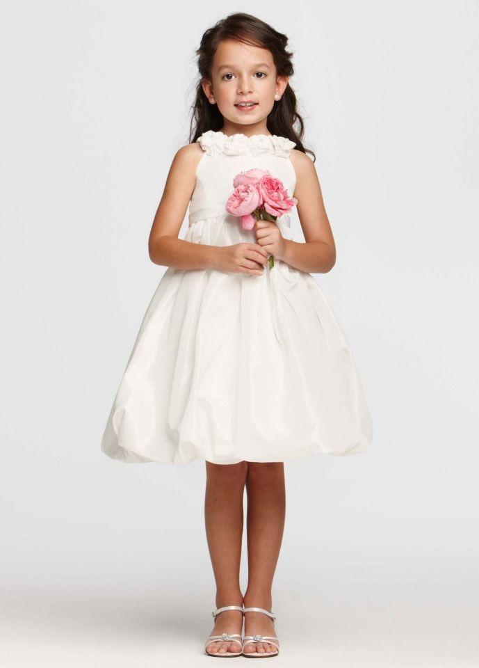 Flower Girl Dresses Davids Bridal White : David s bridal flower girl love
