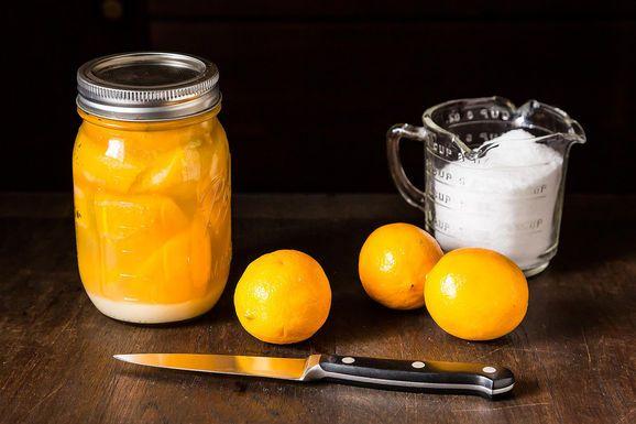 How to Preserve Lemons