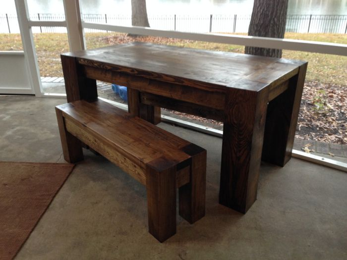 Vintage Parsons Play Table Bench   HOME/DECOR   Pinterest