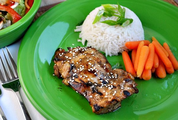Ginger Honey Lime Chicken! I subbed coconut oil for canola, chicken ...