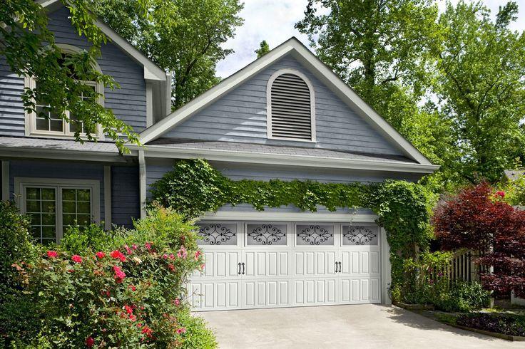 Garage Trellis Garage Doors Gable Roofs Pinterest