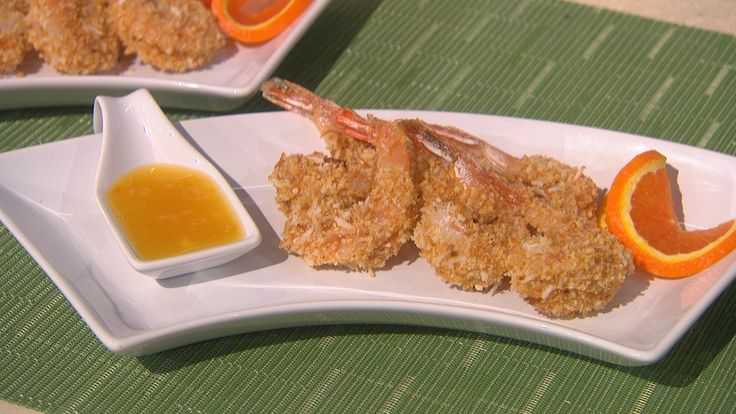 ... Kimball - The Talk - CBS.com--Coconut Shrimp with Orange Dipping Sauce