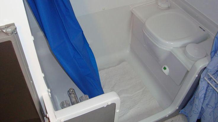 Portable Shower Toilet Combo : Rv cassette toilet shower combo dreamin pinterest