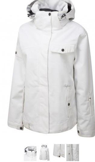 Surfanic Womens The Ennis Collection Disco Jacket White
