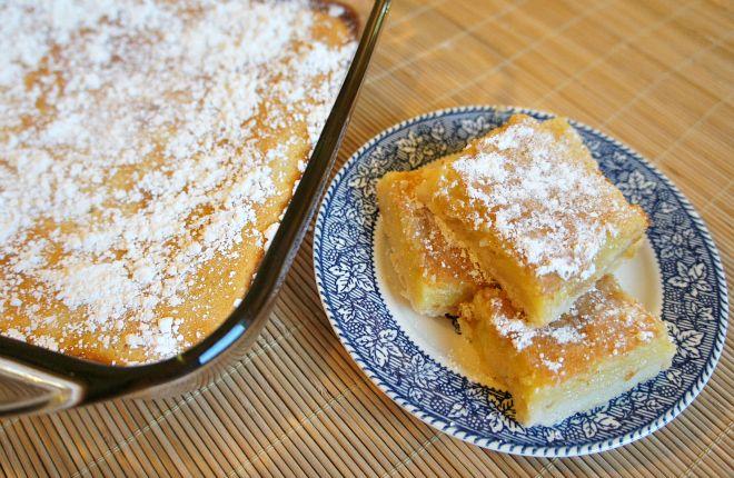 meyer lemon bars recipe- Just made this. Best recipe EVER!