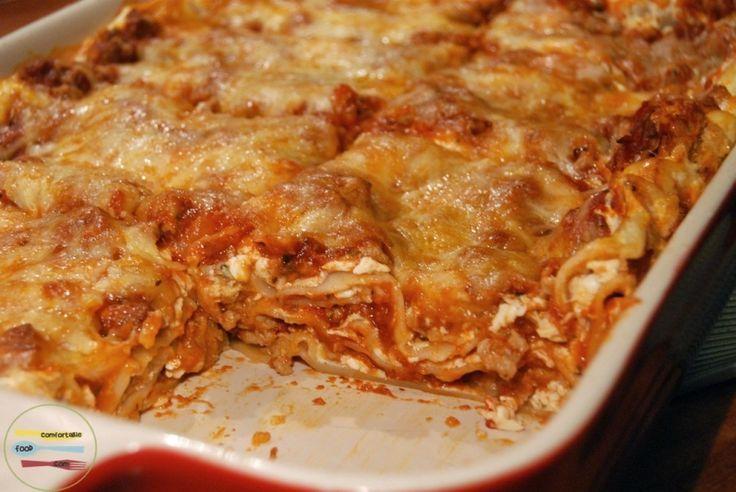 Easy, classic meat lasagna | Recipe