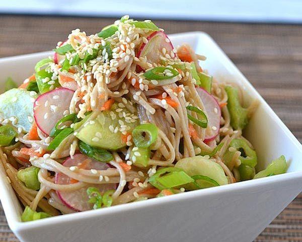 Easy Soba Noodle Salad | Recipe