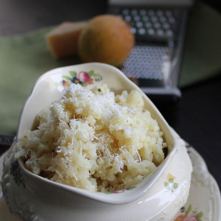 Baked Lemon Parmesan Risotto | Side dishes | Pinterest