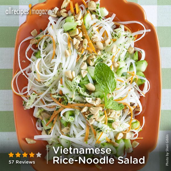 Vietnamese Noodle Salad With Stir-Fried Tofu And ...