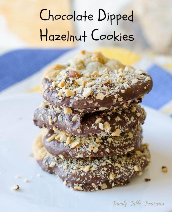 Hazelnut Cookies | Delish Desserts | Pinterest