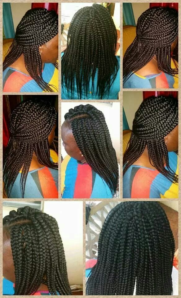 Crochet With Box Braids : Crochet box braids hair styles Pinterest