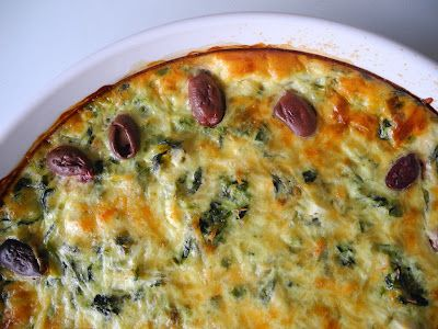 ... and Feta Quiche-made tonight with WW pie crust, in the oven now