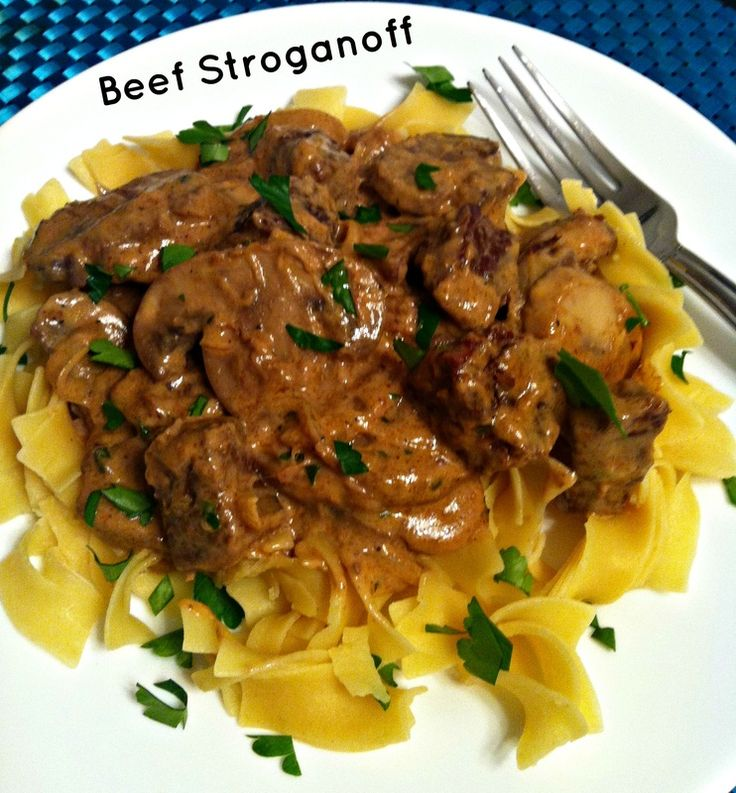 Beef Stroganoff ~ The Complete Savorist