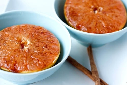 Broiled Grapefruit. I love grapefruit but I'm not so sure about this ...