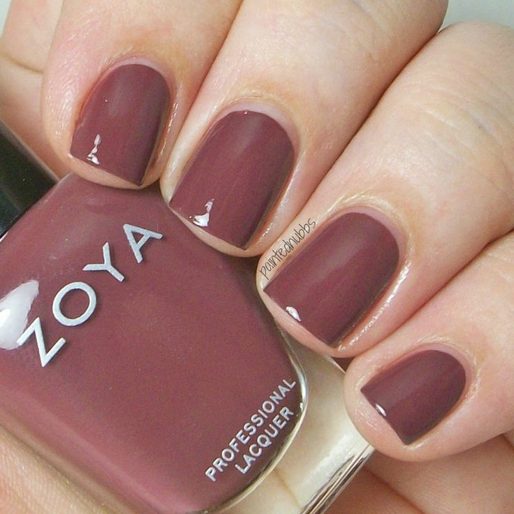 Painted Nubbs: Zoya Naturel Deux Collection Swatches- Marnie