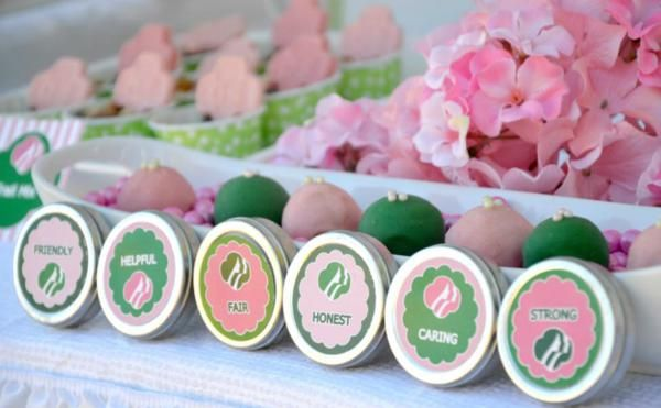 Girl scouts party planning ideas