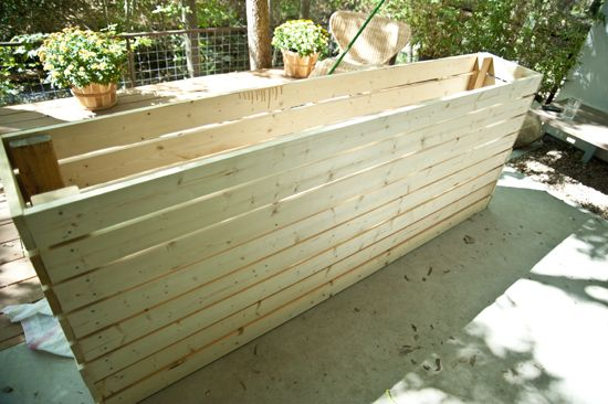 Diy plant box garden pinterest for How long to build a house