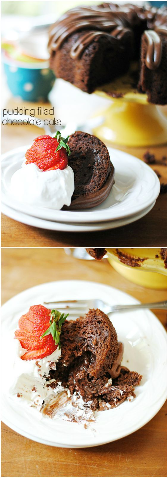 pudding filled cakes