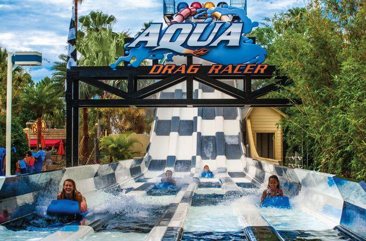 Aqua Drag Racer