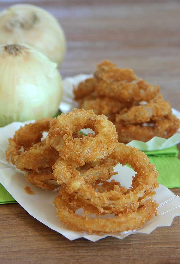 Crispy Onion Rings - Hilah Cooking | Betty Crocker | Pinterest