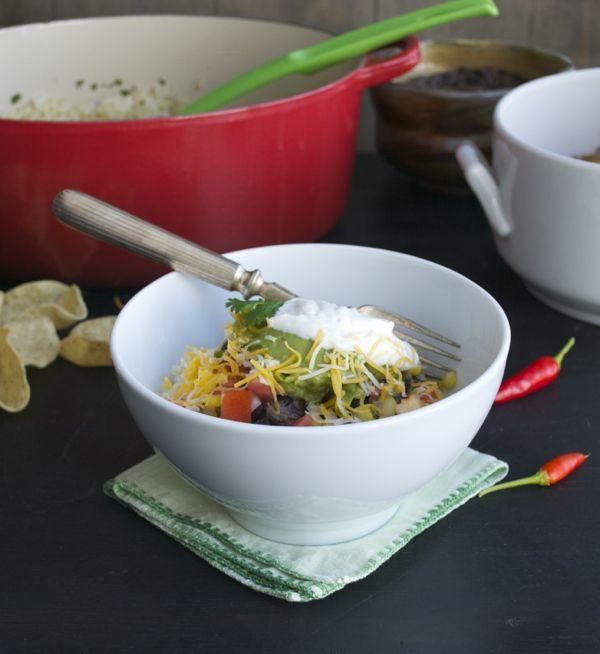 Beer Braised Carnitas Burrito Bowl | Food, glorious Food | Pinterest