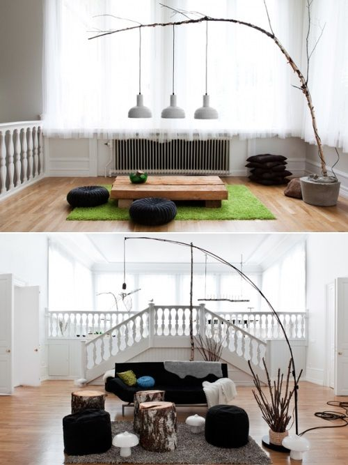 5 creatieve ideeën voor het ophangen van lampen   nr.215