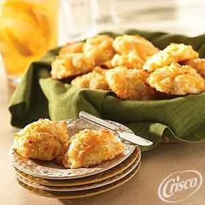 Cheese Drop Biscuits from Crisco®