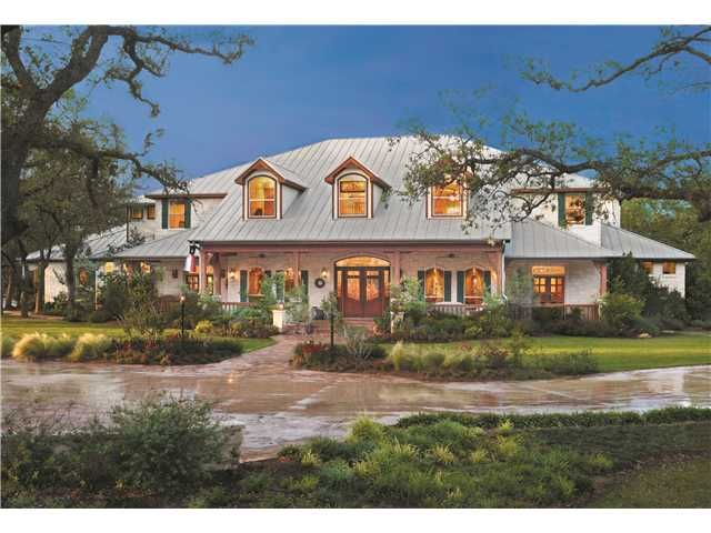 Texas limestone homes google search houses pinterest for Texas stone homes