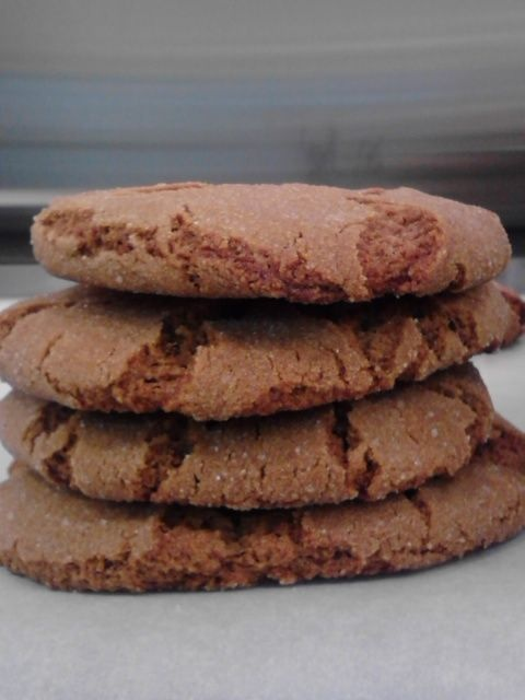 Chewy double-ginger cookies | Mockingbird | Pinterest