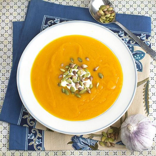 pumpkin & garlic soup + toasted pepitas | Chef de la plancha | Pinter ...