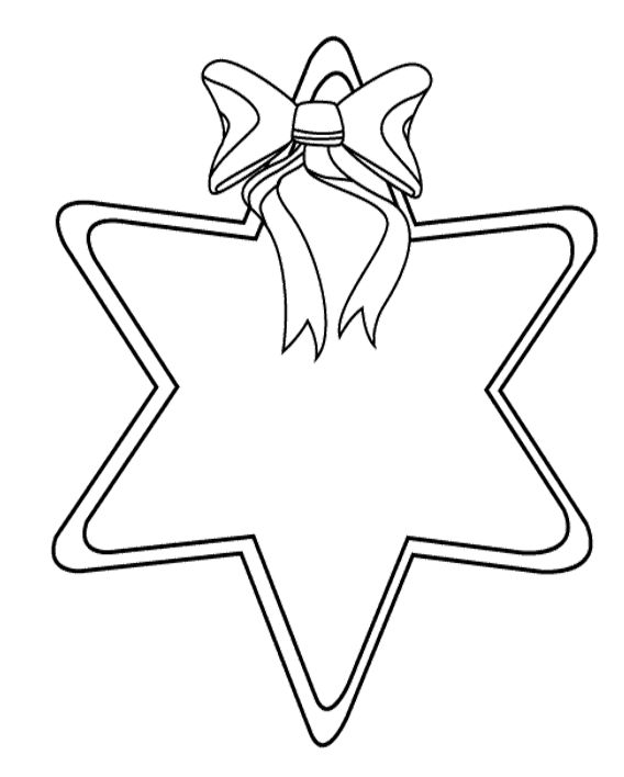 Printable Christmas Star Coloring Pages | Coloring pages ...