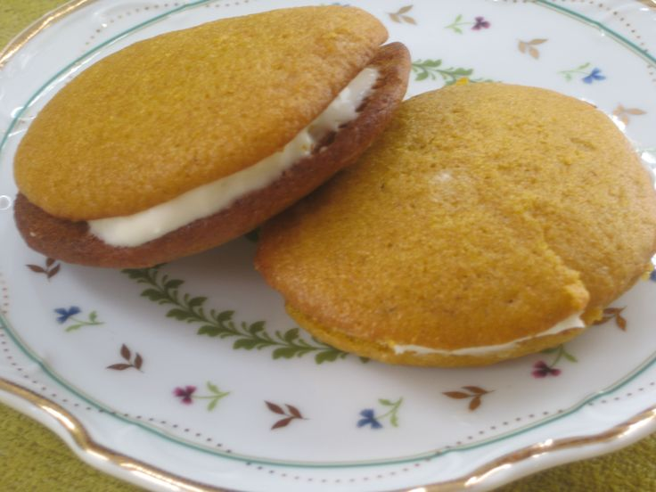 ... Favorite Recipe EVER: Pumpkin Whoopie Pies with Cream Cheese Filling