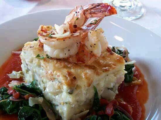 Seafood lasagna | Food is good. | Pinterest