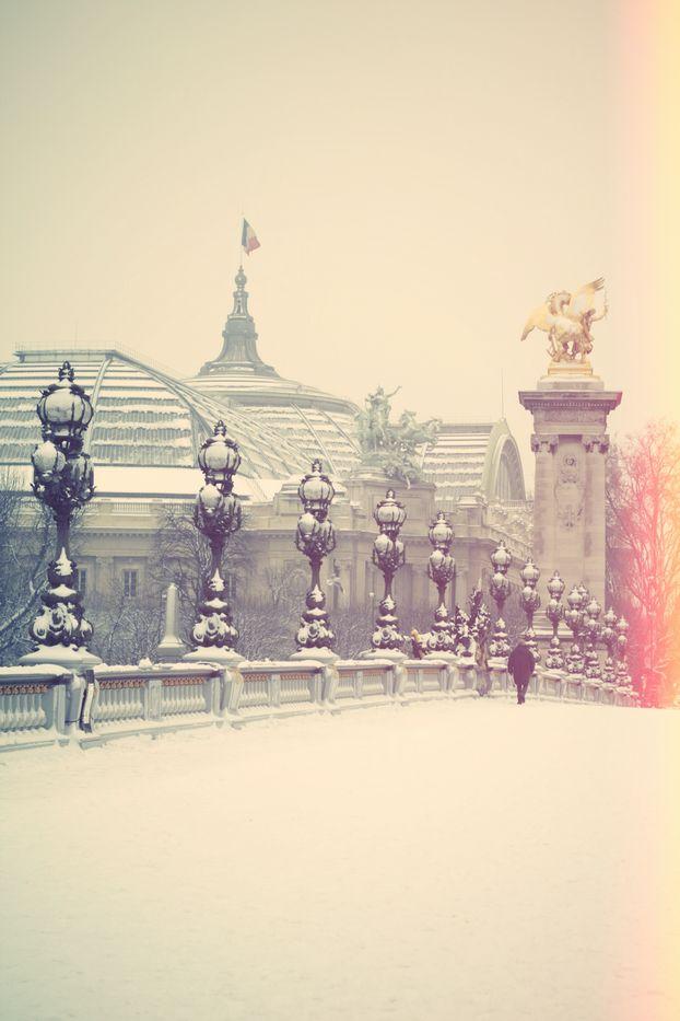 paris: paris in the winter