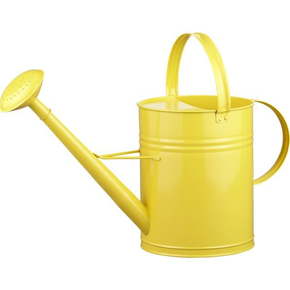 Yellow watering can - Sprinkling cans ...