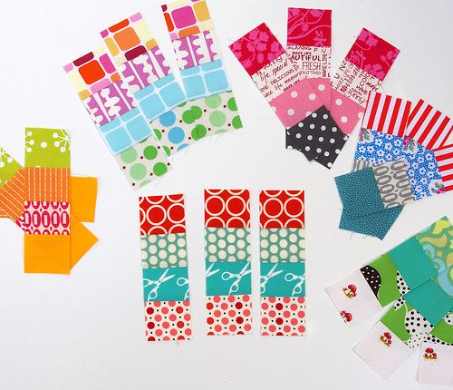 Postage Stamp Tutorial by Rita of Red Pepper quilts