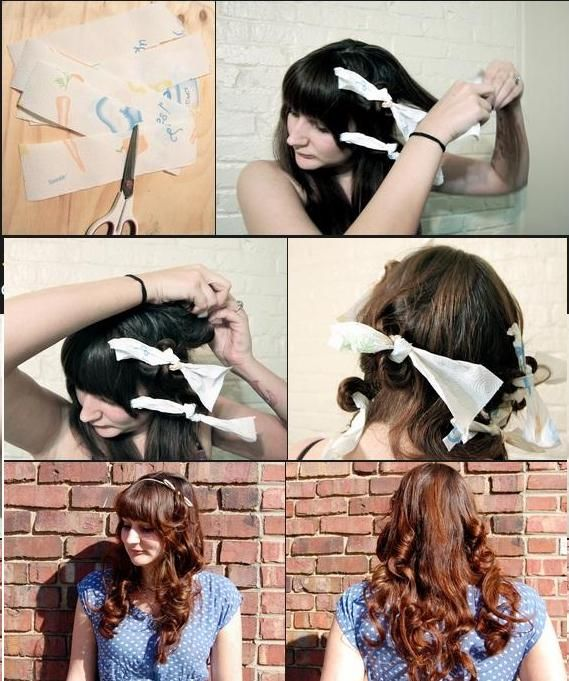 Curly Hair Using Pap