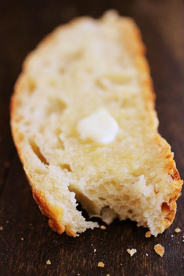 No-Knead Crusty Artisan Bread | Recipe