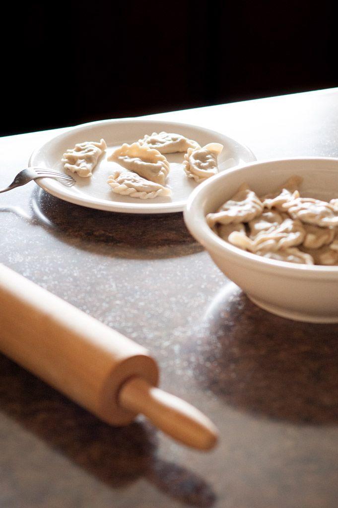 Pierogi with Sauerkraut and Mushrooms | What's on the Plate