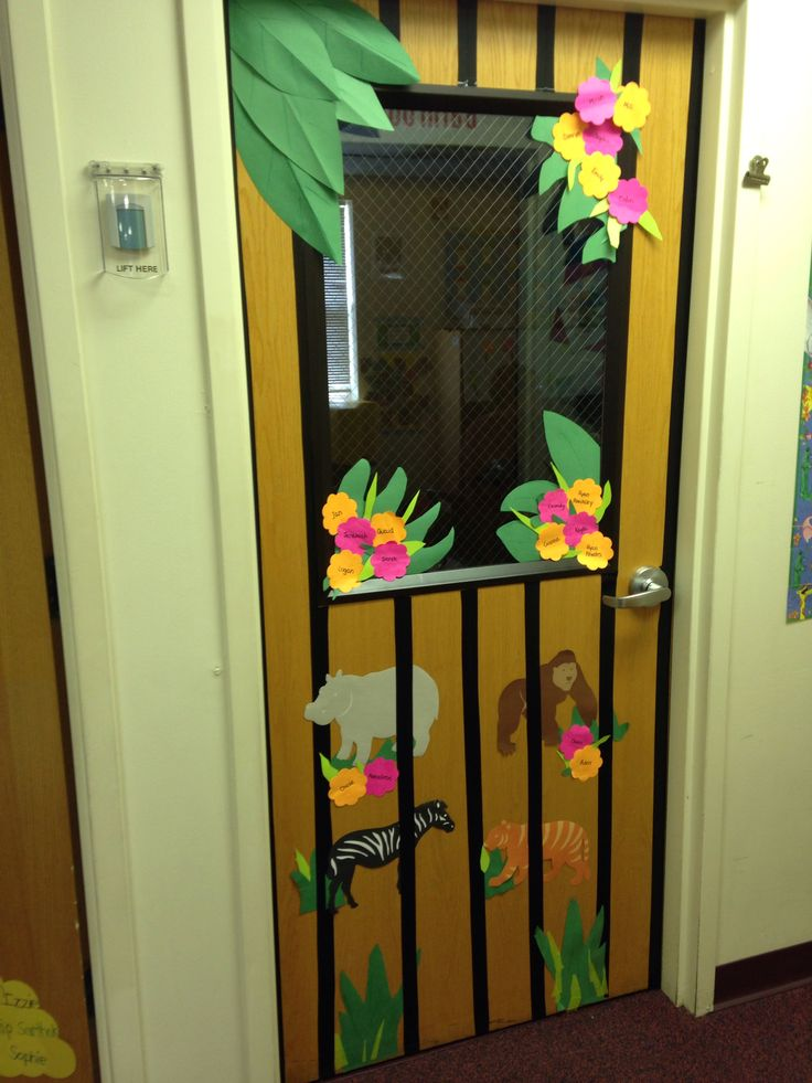 Classroom Zoo Ideas : Zoo themed classroom door ideas pinterest
