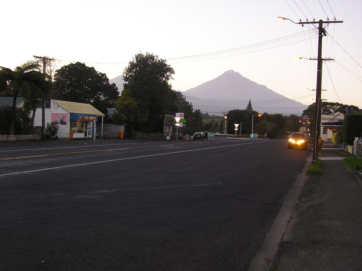 Okato New Zealand  city photo : Early morning in Okato, Taranaki, North Island, New Zealand.